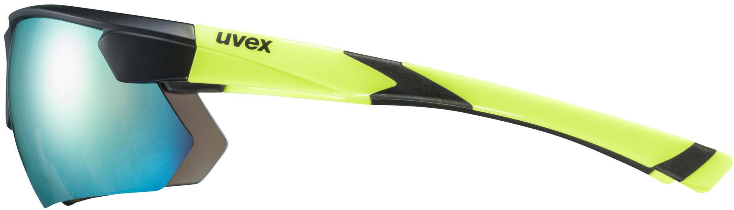 8ebea5d8de9d2 UVEX Sportstyle 221 - Lunettes cyclisme - jaune noir - Boutique de ...